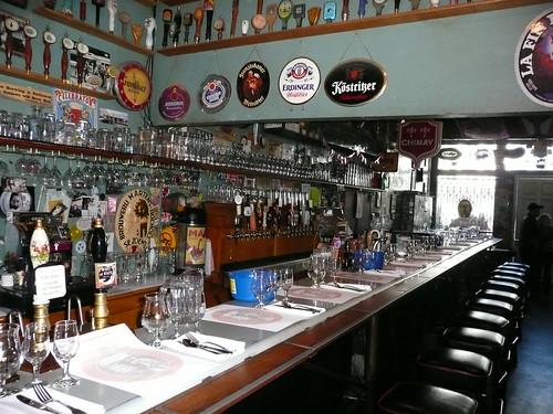 The Toronado ready for a beer dinner