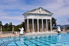 Neptune Pool... (ragtops2000 (away for awhile)) Tags: california park castle art water temple nikon colorful estate roman scenic antiques sansimeon williamrandolphhearst neptunepool lightroom imported d300 anchient 18200vr nohdr mygearandme