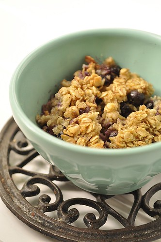 Baked Oatmeal breakfast bowl