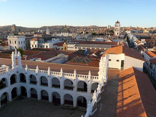 Les toits de Sucre