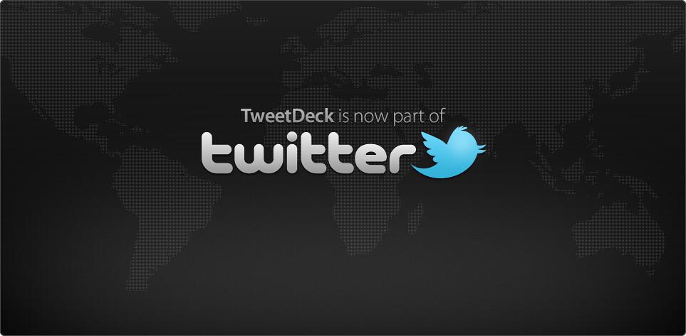 twitter acquires tweetdeck