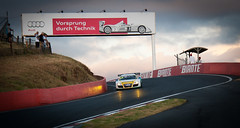 Morning Glory (Dug1071) Tags: morning sports car skyline race speed track european fast australia headlights racing production audi bathurst sportscars r8 mtpanorama theesses canon40deos