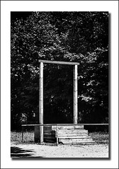 The Commandant's Gallows (Dave_Davies) Tags: camp death concentration justice nazis poland prison hanging rudolf auschwitz genocide sentence gallows commandant hss