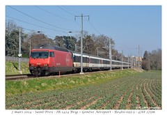 Re460 095-3 - Saint-Prex (CC72080) Tags: train sbb locomotive cff re460 saintprex interrégio