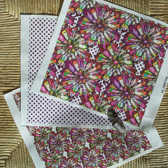 JOYFUL-DOTTY-WHITE-Collecti (paysmage) Tags: flowers summer wallpaper fashion garden design spring ribbons sewing multicoloured fresh fabric bow sunflower quilting daisy coordinates assorted dotty designers flowery spoonflower