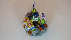 DJ Baxsta & Custom DJ Table Brick Yourself Custom Lego Figure3