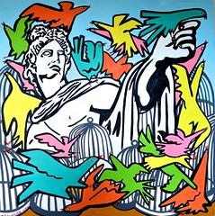 The Virtue of Freedom (MATLAKAS) Tags: saatchi guggenheim sotheby auction emirates ruski birds numbers kabbalah
