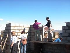 Building front window (gvMongolia2009) Tags: mongolia habitatforhumanity globalvillage