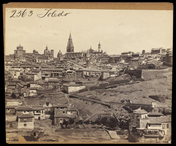 Vista de Toledo hacia 1860. Fotografía de Francis Frith. © Victoria and Albert Museum, London