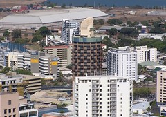 Townsville skyline - 22nd Oct 200