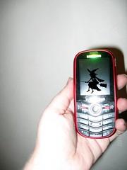 Phone closed up