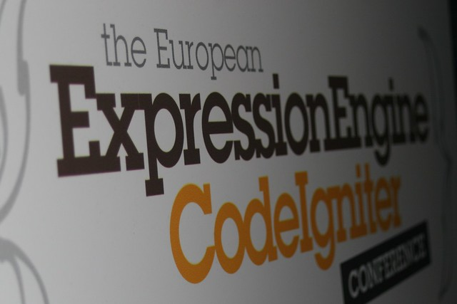 The European ExpressionEngine and CodeIgniter Conference