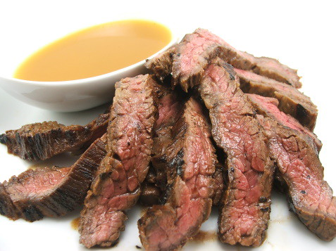 Triple Citrus Marinated Skirt Steak