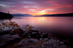 Columbia River Sunrise (Jesse Estes) Tags: longexposure sunrise columbiariver 1635ii jesseestesphotography