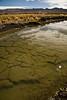 Dépôt de terre contaminée au fond du fleuve Ramis  (Crucero, Puno, Pérou, août 2009)