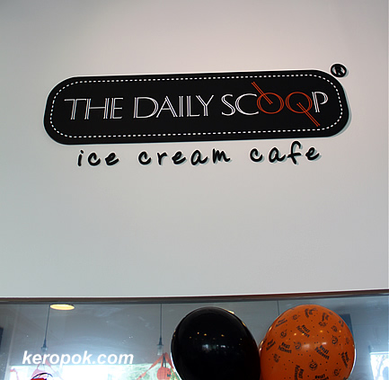 The Daily Scoop - ice cream cafe