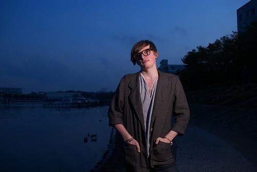 京浜運河にて model:Hunter
