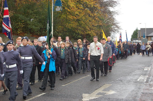 Whickham Remembrance Day Nov 09 no 5