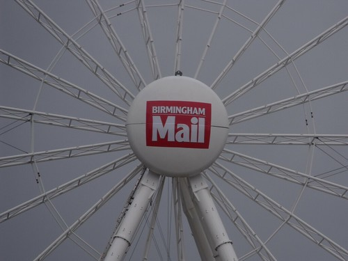 Birmingham Big Wheel in the rain - Birmingham Mail