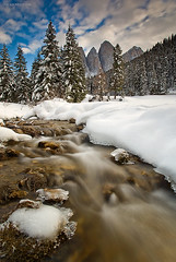 Dolomites First Snow (lucagiustozzi.com) Tags: dolomites dolomiti