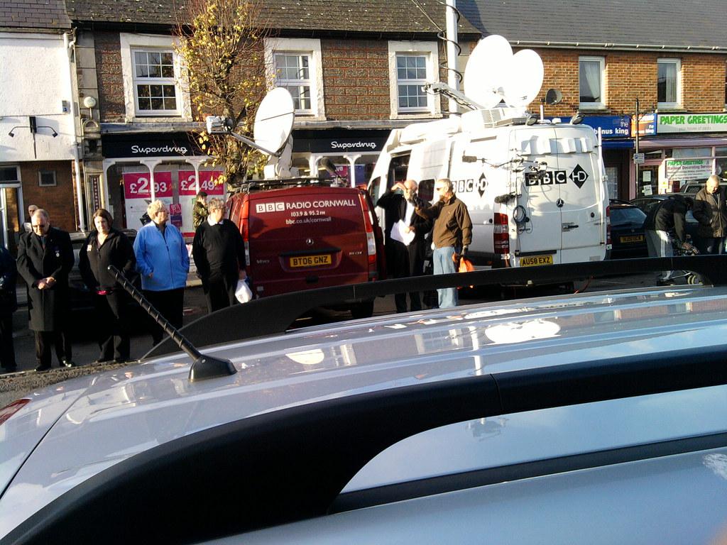 BBC HD robotic van