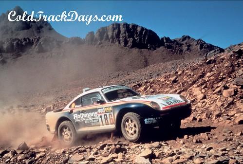Porsche 959 Dakar. PARIS-DAKAR PORSCHE 959