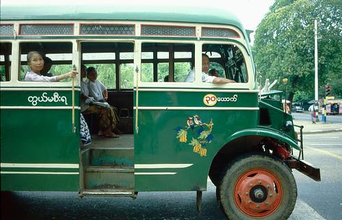 City Bus - Rangoon
