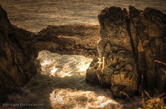 the rock (Kris Kros) Tags: ocean photoshop point pacific pch kris kkg mugu cs4 kros kriskros fineartphotos kkgallery