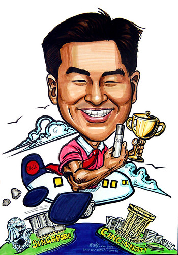 Caricature for P&G SK-II
