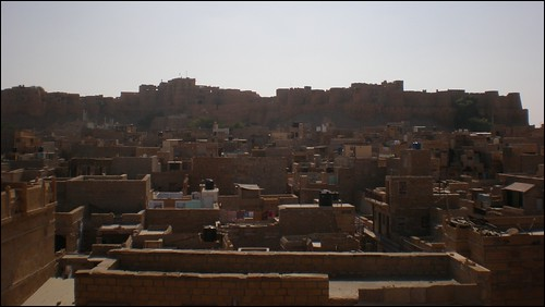 Rooftop view of Jaisalmer