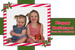 Custom Photo Card Design - Christmas