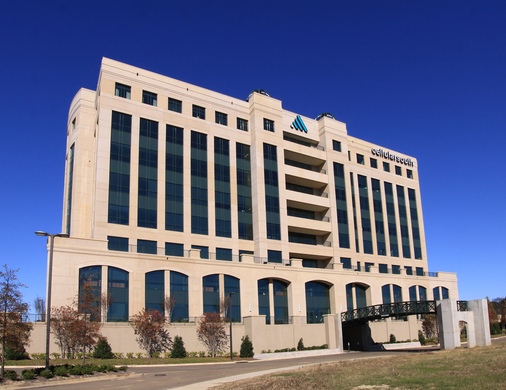 Cellular South building in the Renaissance Ridgeland Mississippi