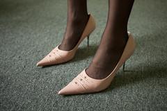 MINIMAL FETISH_8790 (VonMurr) Tags: pink black classic feet fetish mexico shoe df highheels leg pantyhose stilettos maurycygomulicki minimalfetish