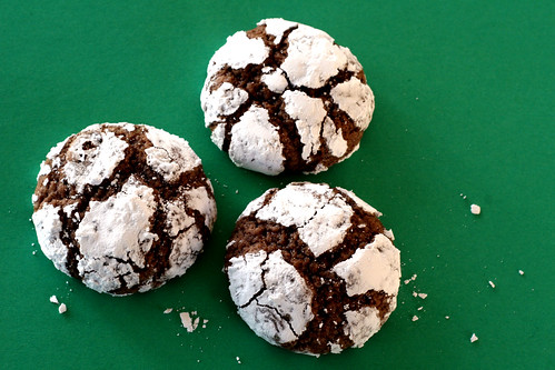Chocolate Crinkles (or Pixies)