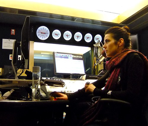 The photograph above is Lana Gay on CBC Radio 3, the third national radio ...