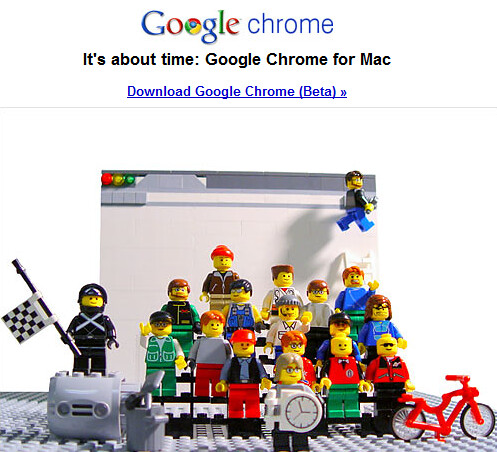 Google Chrome, It's About Time (by adria.richards)