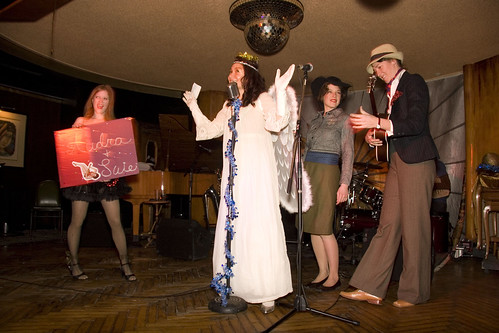 "Torch With a Twist presents ""Torch the Cosmos,"" at Cliff Bells"