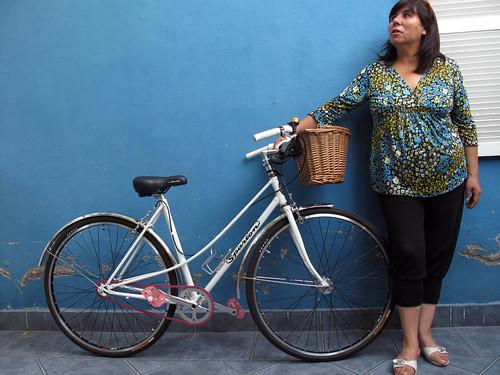 Mariela y su bici