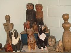 antique Finnish  dolls n´animals