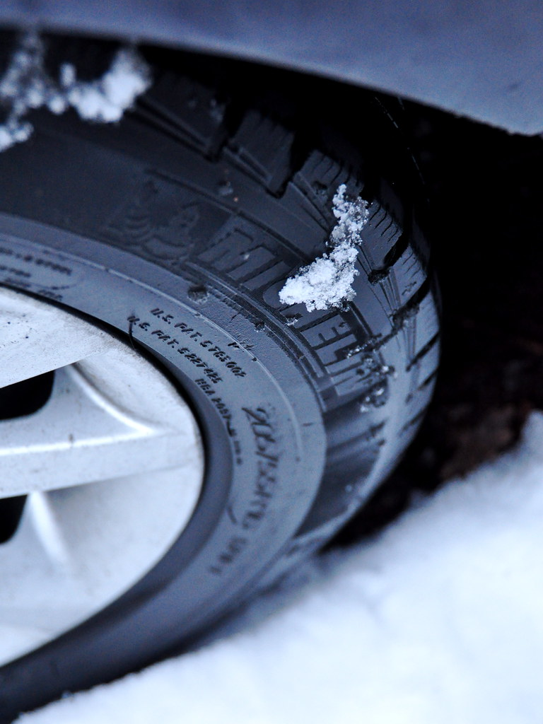 Michelin winter tyre
