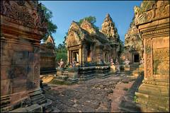 Jewel of Khmer Art (Souvik_Prometure) Tags: cambodia khmer angkorwat siemreap angkor phnombakheng taphrom preahkhan banteaysrey banteaysrei banteaykdei sigma1020mm bayontemple abigfave platinumphoto nikond90 flickrdiamond theunforgettablepictures souvikbhattacharya