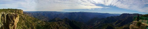 Barrancas del Cobre / Copper Canyon national park panorama