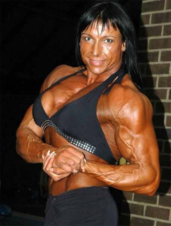 스웨덴 제일의 여성 보디빌더 Irene