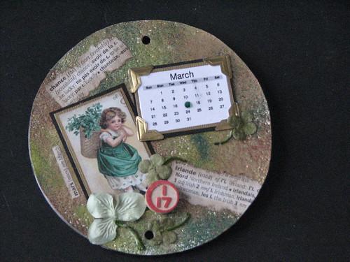 CD Calendar - March 012