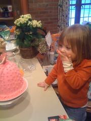 The Princess Cake (Doug Bost) Tags: birthday pink cake carolyn doll doug barbie acadia bost baeumler