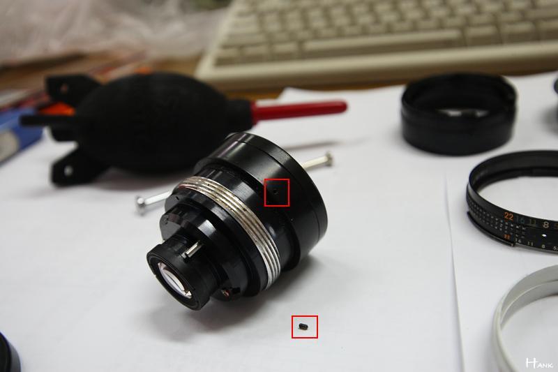 拆解 NIKON 20MM F3.5