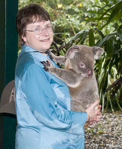 Kathy and Koala