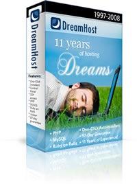 dreamhost promo 2010