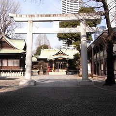 The Kumano Shrine and Yodobashi Purification Plant 02