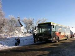 2008-12-28 Teplice Bus Nr.611 (beranekp) Tags: mountains bus czech transport autobus ore wolfgang erzgebirge krupka teplice hory schönau komáří vížka teplitz krušné